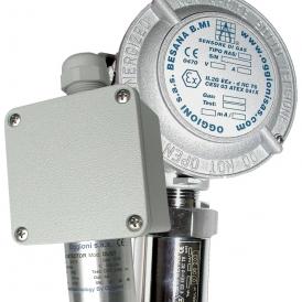 تجهیزات ایمنی جایگاه CNG دتکتور گاز OGGIONI ایتالیا