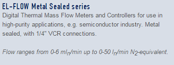 10-El-Flow metal Sealed series