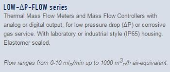 9- Low-delta P- flow series
